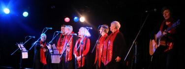 Compassionate Voices Community Choir at the Corner Hotel 10/07/19