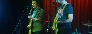 The Smallgoods duo at the Caravan Music Club 18/05/19