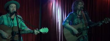 Suzannah Espie and Shaun McMahon at the Union Hotel Brunswick 22/06/19
