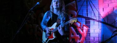 Freya Josephine Hollick at the Pride of Our Footscray Community Bar 18/06/19