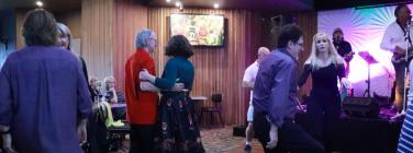 Dancing at Tigers Clubhouse 31/03/19