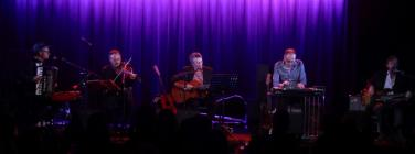 Dan Warner and band at the Caravan Music Club 09/02/20